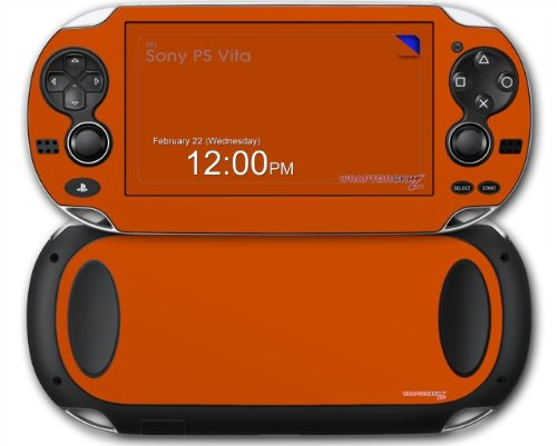 Sony PS Vita Skin Solids Collection Burnt Orange by WraptorSkinz