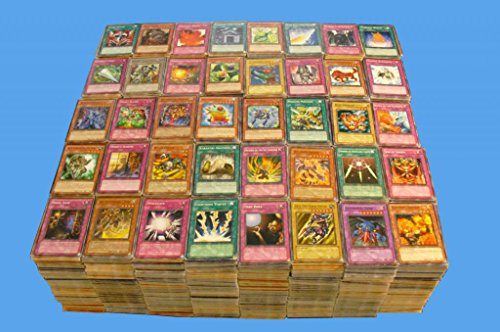 4000+ YUGIOH MIXED BULK CARD LOT FROM HUGE COLLECTION COMMONS RARES & 100 HOLOS