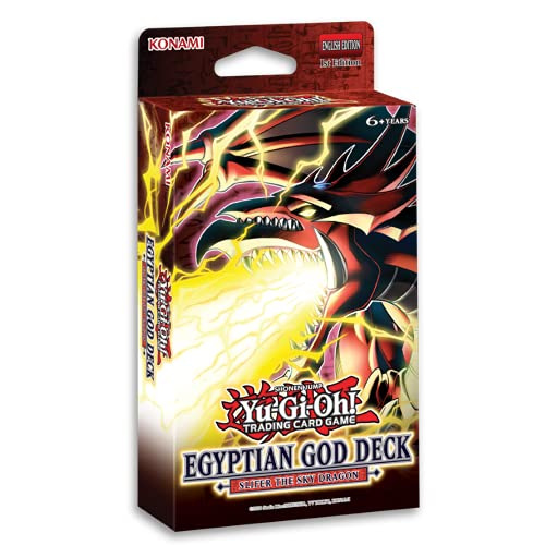 Yu-Gi-Oh! Trading Cards Cards: Egyptian God SLIFER Deck, Multicolor