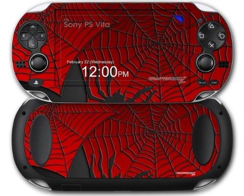 Sony PS Vita Skin Spider Web by WraptorSkinz